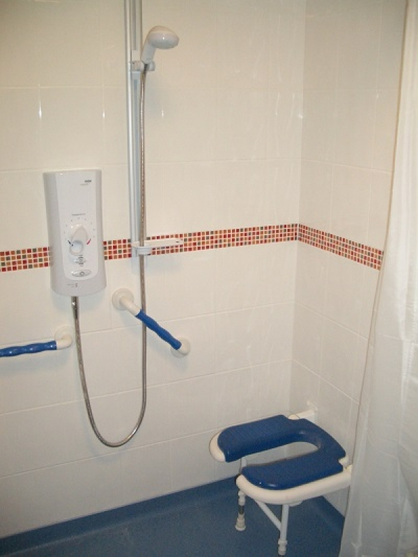 Shower adaption